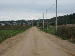 отсыпка дорог