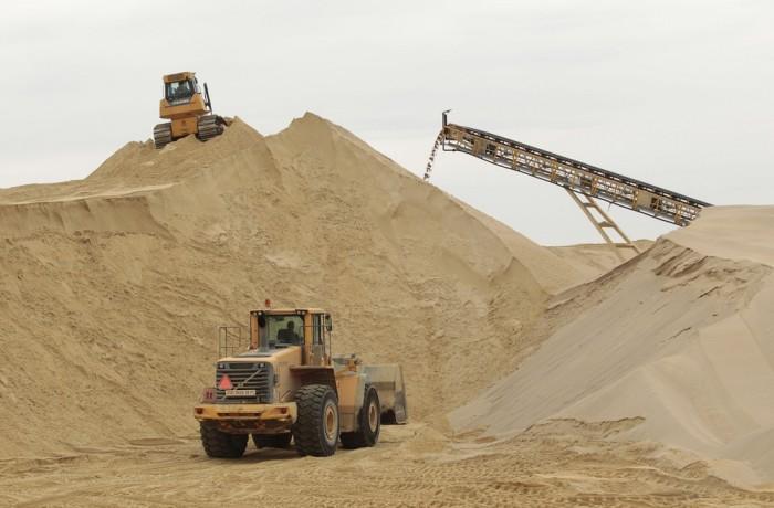 Песок строительный (Сеяный)