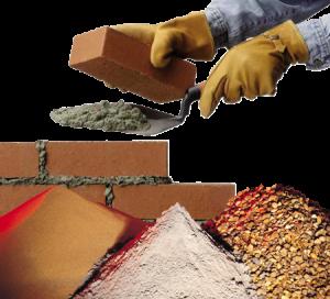строительные смеси песок